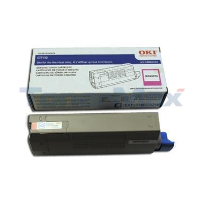 OKIDATA C710 TONER CARTRIDGE MAGENTA